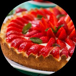 Kitchens with Rosemary Shrager Strawberry Tart